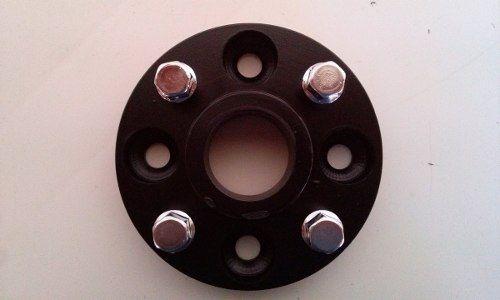 02 Pçs Adaptador De Roda Fiat 4x98mm P/ 4x100mm 25mm Gol Cpf