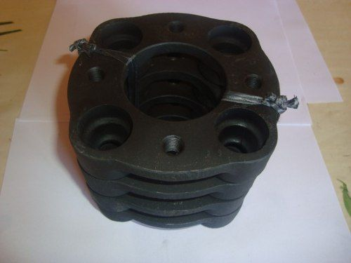 04 Pçs Adaptador Roda Ford 4x108mm P/ 4x98mm 28mm Spf Fiat