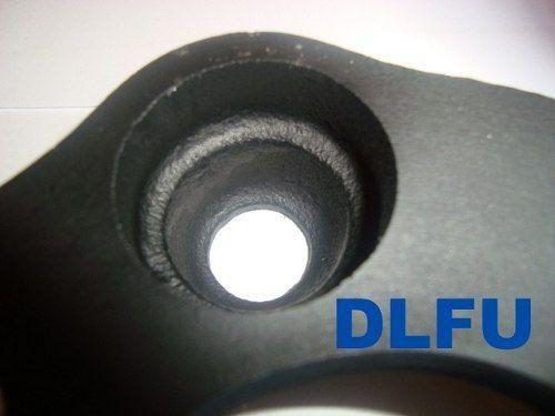 4 Pçs Espaçador De Roda Ford 4x108mm P/ 4x108mm 28mm Spf