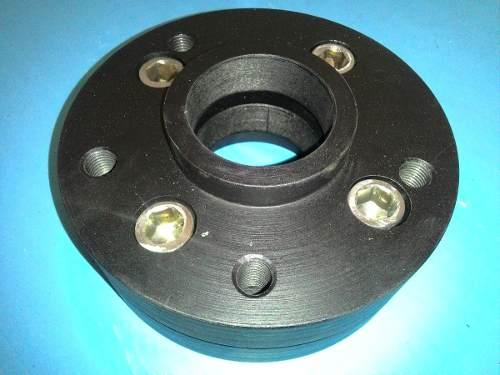 04 Pçs Adaptador Roda Gol 4x100mm P/ 5x100mm 25mm Espess