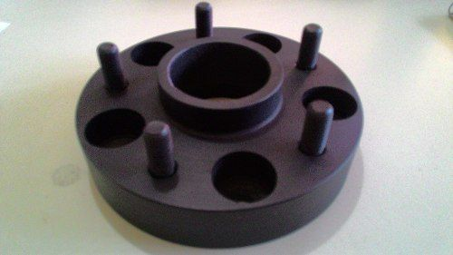 04 Pçs Espaçador De Roda Wrangler 5x127mm P/ 5x127mm 32mm