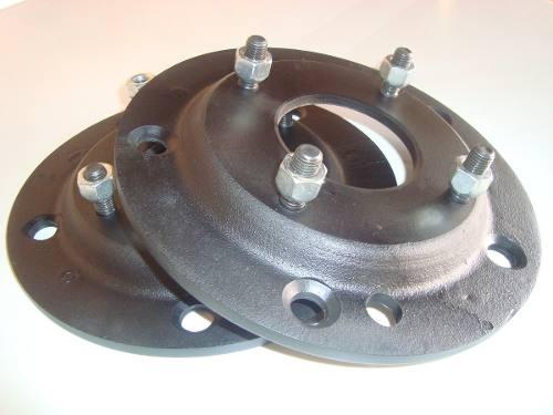 04 Pç Adaptador Roda Fusca 5 5x205mm P/ 4x130mm Fusca M14