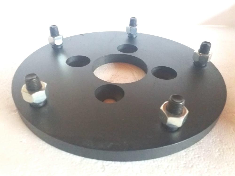 Jg 02 Peças Adaptador de roda Fusca 4 F 4x130mm p/ 5x205mm 13mm