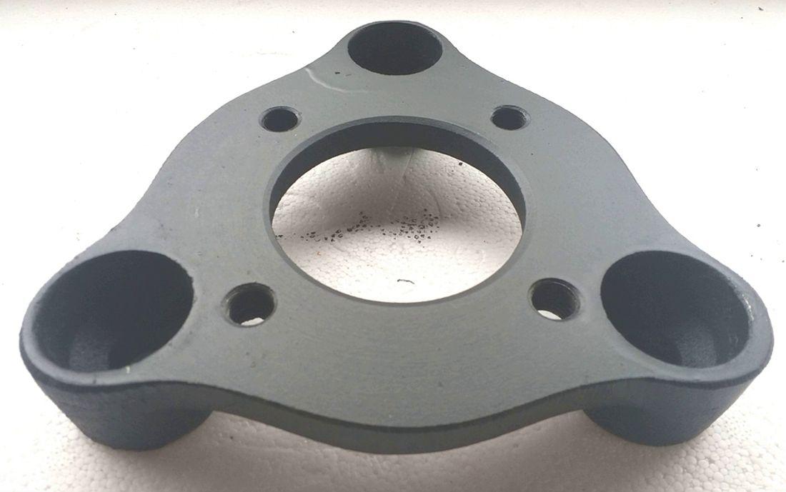 04 Pçs  Adaptador de Roda Corcel Pampa 3x150mm P/ 4x108mm cpf