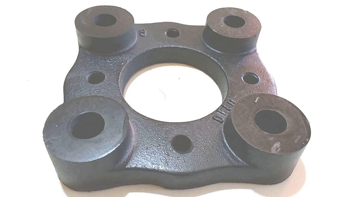 02 Pçs Adaptador De Roda Fusca 4 F P/ Gol 4x130mm P/ 4x100mm spf