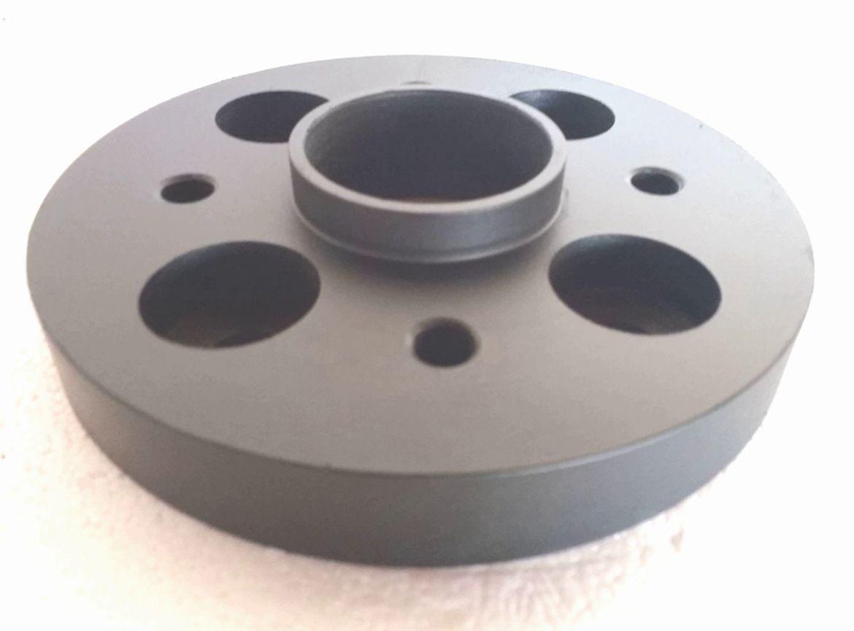 kit 02 Pçs Adaptador De Roda Peugeot 4x108mm P/ 4x100mm 25mm