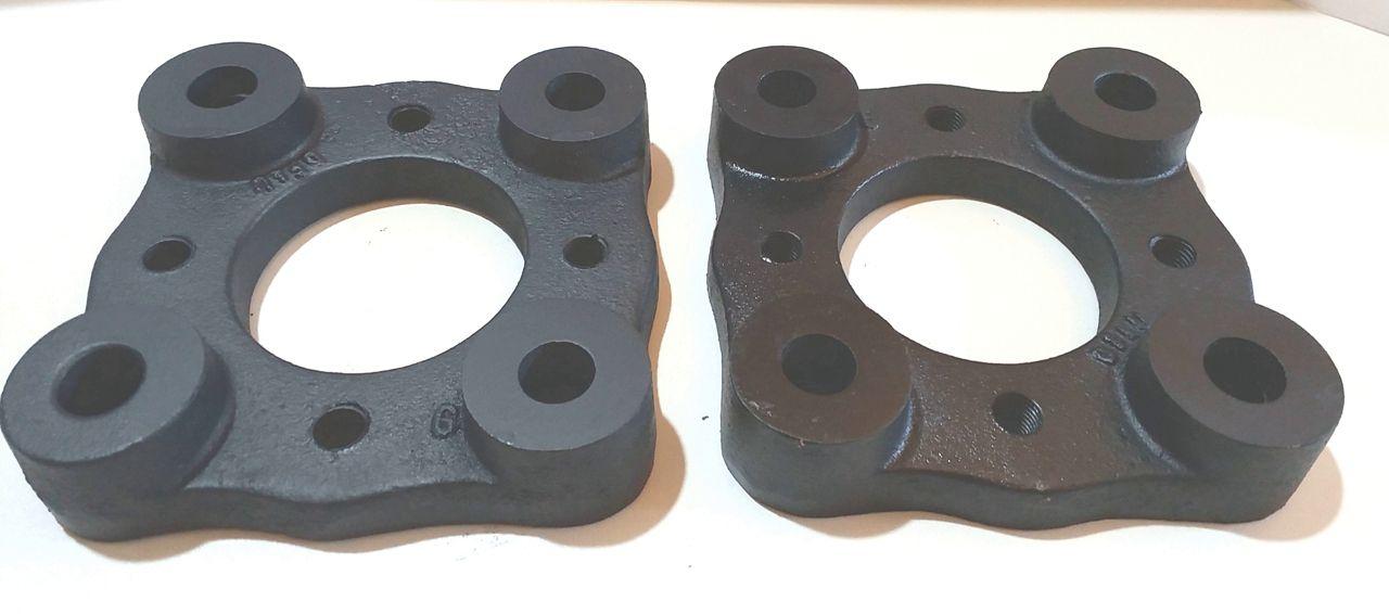 kit 2 Pçs Adaptador De Roda Fusca 4 F 4x130mm P/ 4x108mm Peugeot c/ parafusos
