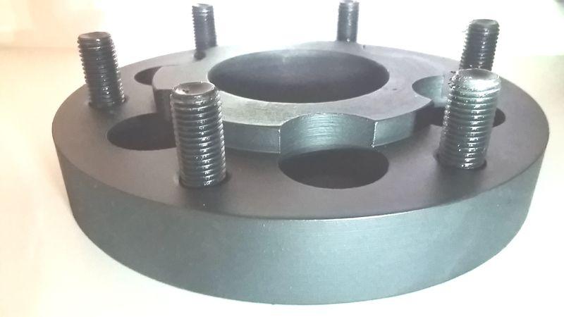 Kit 4 Adaptador De Roda Frontier 6x114,3mm P/ 6x139,7mm 25mm