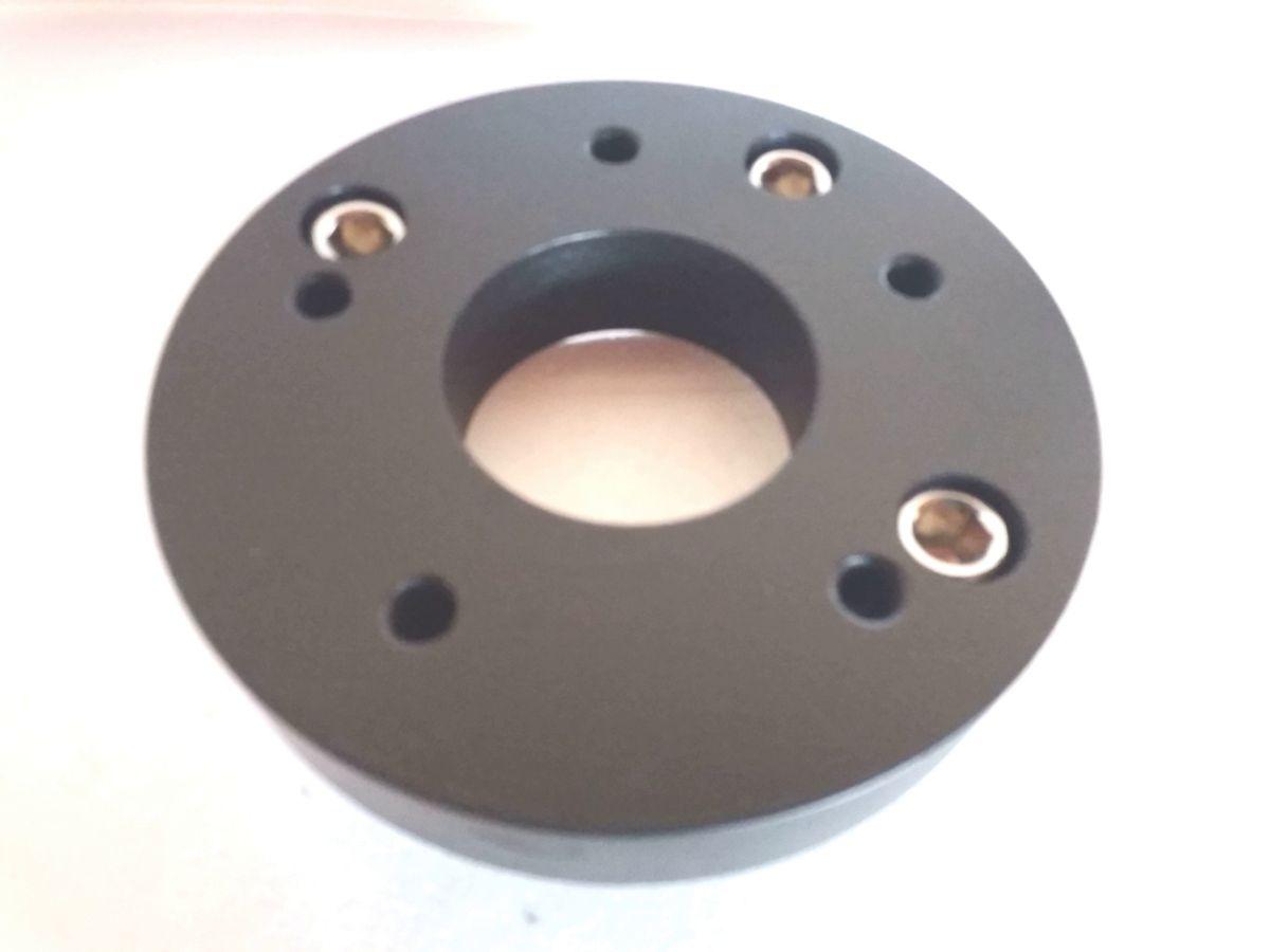 Kit 4 peças Adaptador de roda fusca 4 furos 4x130mm p/ 5x114,3mm Opala Honda Duster