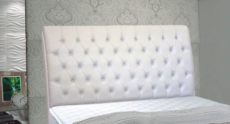Cabeceira para cama box  em corino MB Veranda