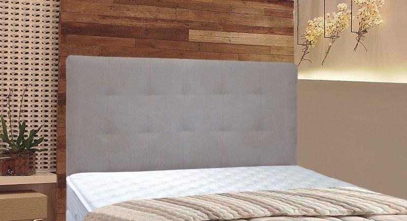 Cabeceira MB para cama box em corino Malú