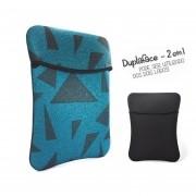 Capa Case para Notebook Tipo Envelope Duplaface 14 pol  - Dust / Preta
