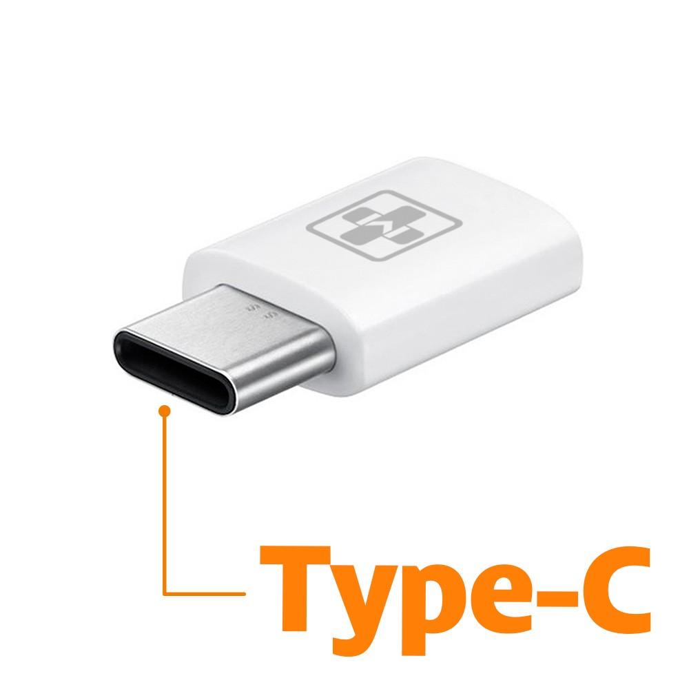 ADAPTADOR MICRO USB (5P) 2.0 (F) p/ TYPE C (M)