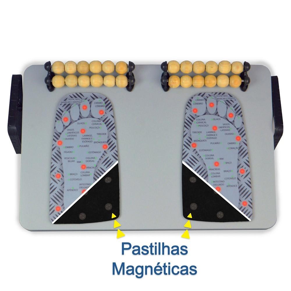 Apoio para Pés Robust (ajustável) – Magnético e Massageador