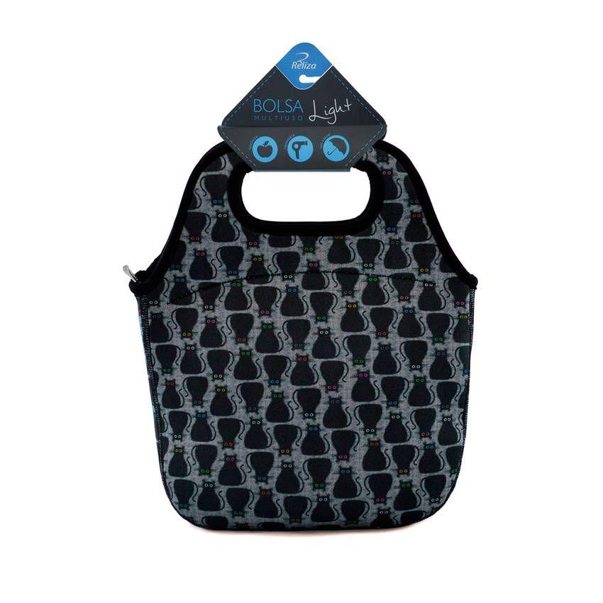 Bolsa Multiuso Fashion - Gato Preto