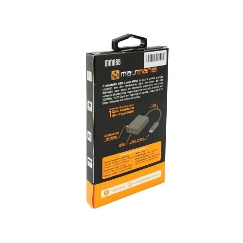 CABO ADAPTADOR USB-C p/ HDMI