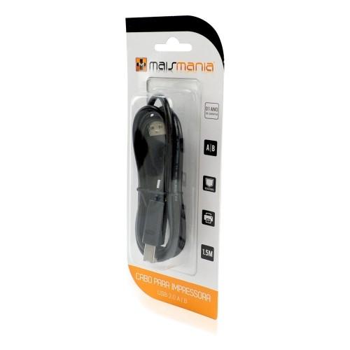 CABO USB P/ IMPRESSORA 2.0 A|B