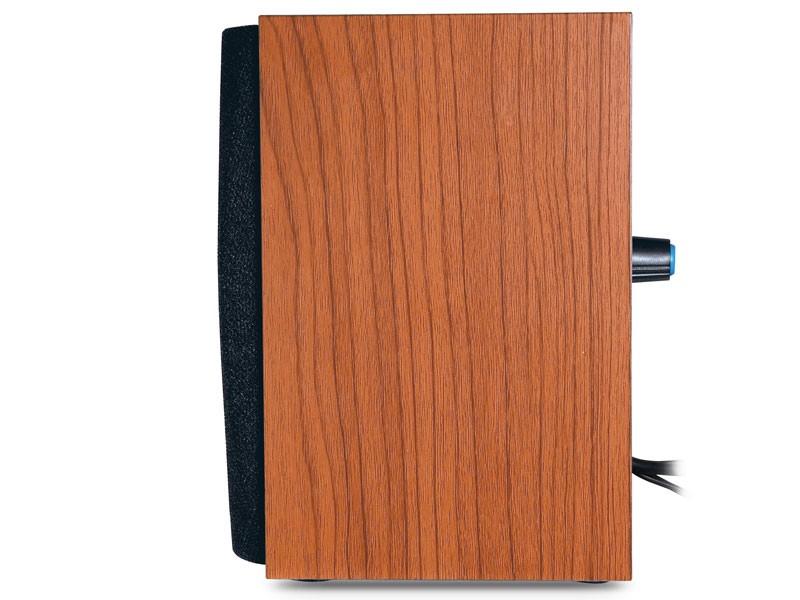 CAIXA DE SOM 2.0 CH GENIUS SP-HF160 4W RMS MADEIRA ALIMENTACAO USB