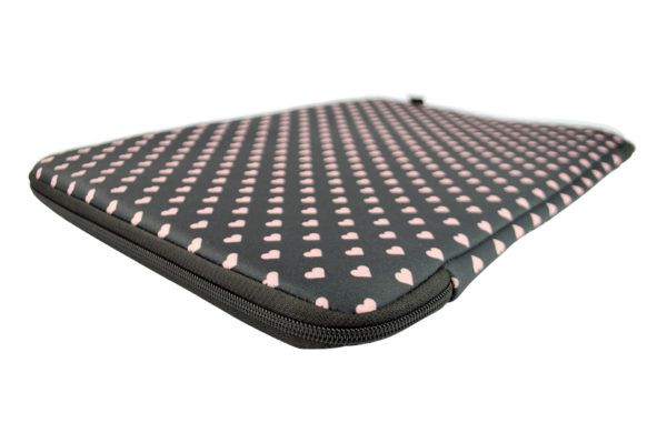 "Capa Case para Notebook 15.6"" em Neoprene - Poa Love Chocolate"