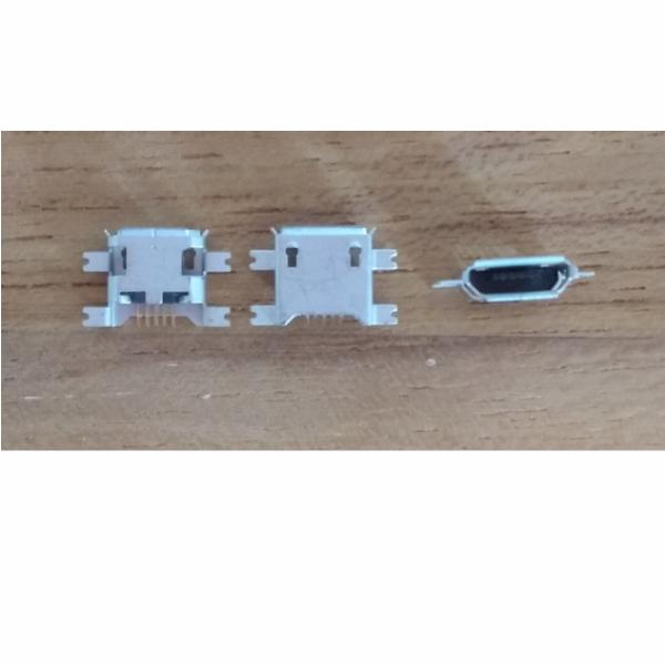 Conector Carga Micro Usb Tablet Celular V8 5 Terminais