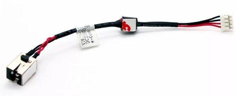 DC Jack com cabo Lenovo Ideapad P400 Z400 P500 Z500