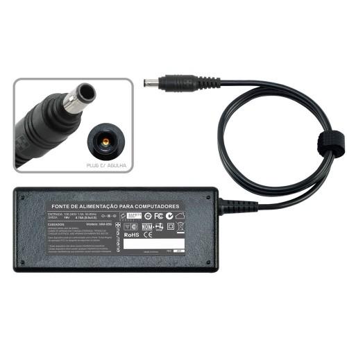 FONTE P/ NOTEBOOK SAMSUNG 19V 4.74A – Plug. 5.5X3.0