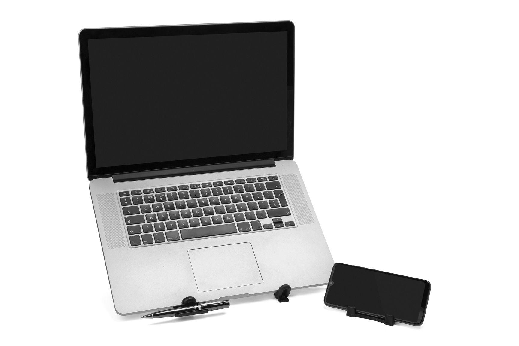 Kit 2 Suporte Universal Para Notebook Netbook Tablet Ergonômico