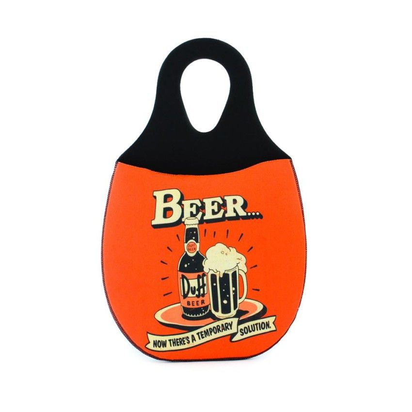 Lixeira para Carro em Neoprene - Duff Beer