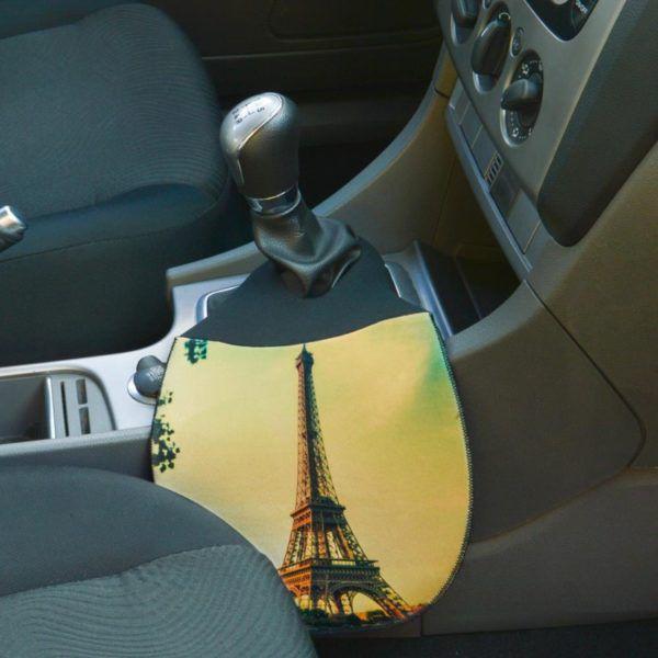 Lixeira para Carro em Neoprene - Classic Paris