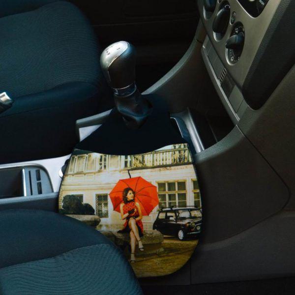 Lixeira para Carro em Neoprene - Classic Retrô