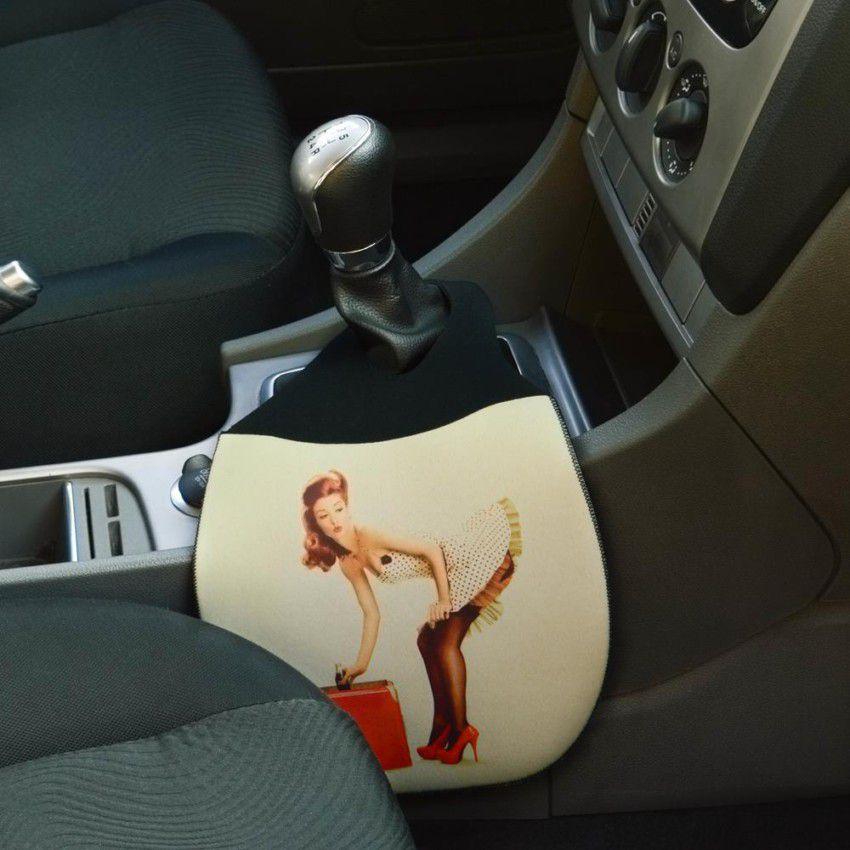 Lixeira para Carro em Neoprene - Pin-up Girl