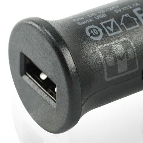 MICRO CARREGADOR VEICULAR USB 1A