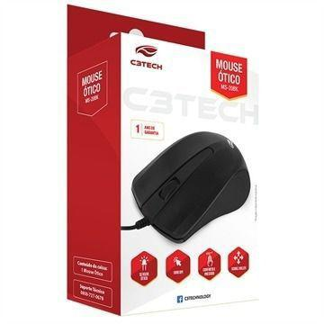 Mouse Usb Basico C3Tech MS-25BK