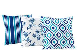 Almofadas Decorativas Trio kit com 3- Azul