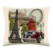 Almofada Paris com enchimento - duas peças