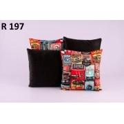 Almofadas Decorativas Quarteto Kit com 4- R197