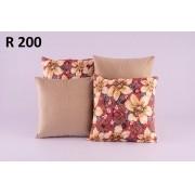 Almofadas Decorativas Quarteto Kit com 4- R200