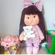 Boneca de Pano Luluzinha- 35 cm