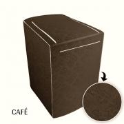 CAPA PARA MÁQUINA DE LAVAR DUBAI TAM  GRANDE -CAFÉ