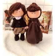 Casal Orgulho e Preconceito- Mr. Darcy e Miss Elizabeth