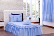 Coleção Principe 03 Peças Solteiro - Realeza Azul