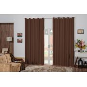 Cortina Blackout 2,00m x 1,70m- Tabaco