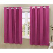Cortina Blackout PVC corta 100 % a luz 2,80 m x 1,80 m Pink