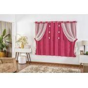 Cortina Cecilia 2,00x1,70m - Pink