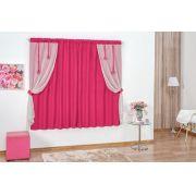 Cortina Daniela 2,00m x 1,70m - Pink