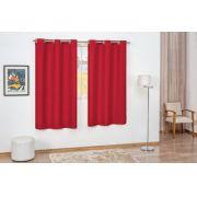 Cortina Pratic 2,00m x 1,70m- Vermelho