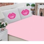 Jogo de Lençol Casal- Beijo