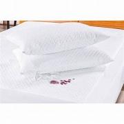 Kit 2 Protetor de Travesseiro Impermeável 70cm x 50cm Branco