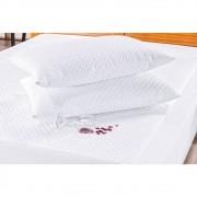Kit Capa Para Colchão King + 2 Capa Travesseiro Impermeável