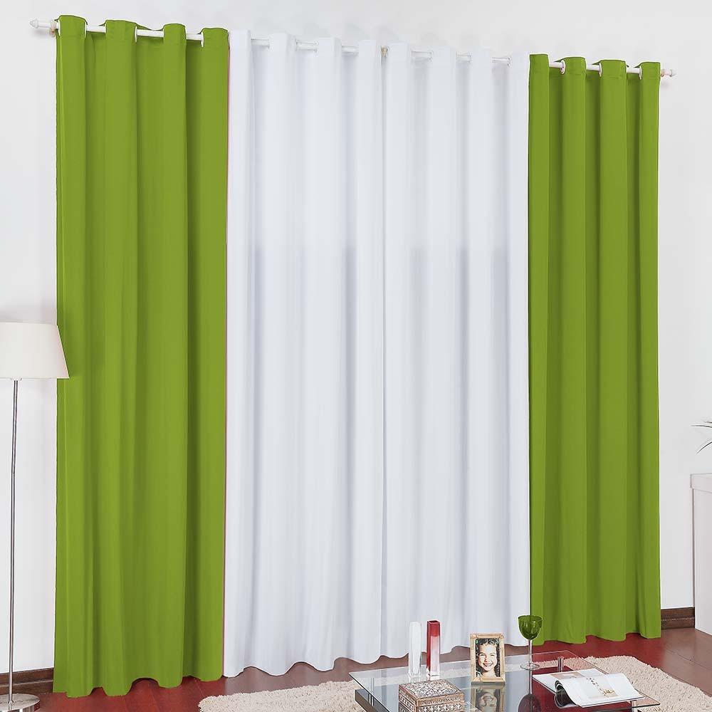Cortina Lisboa 3 x 2,80m - verde